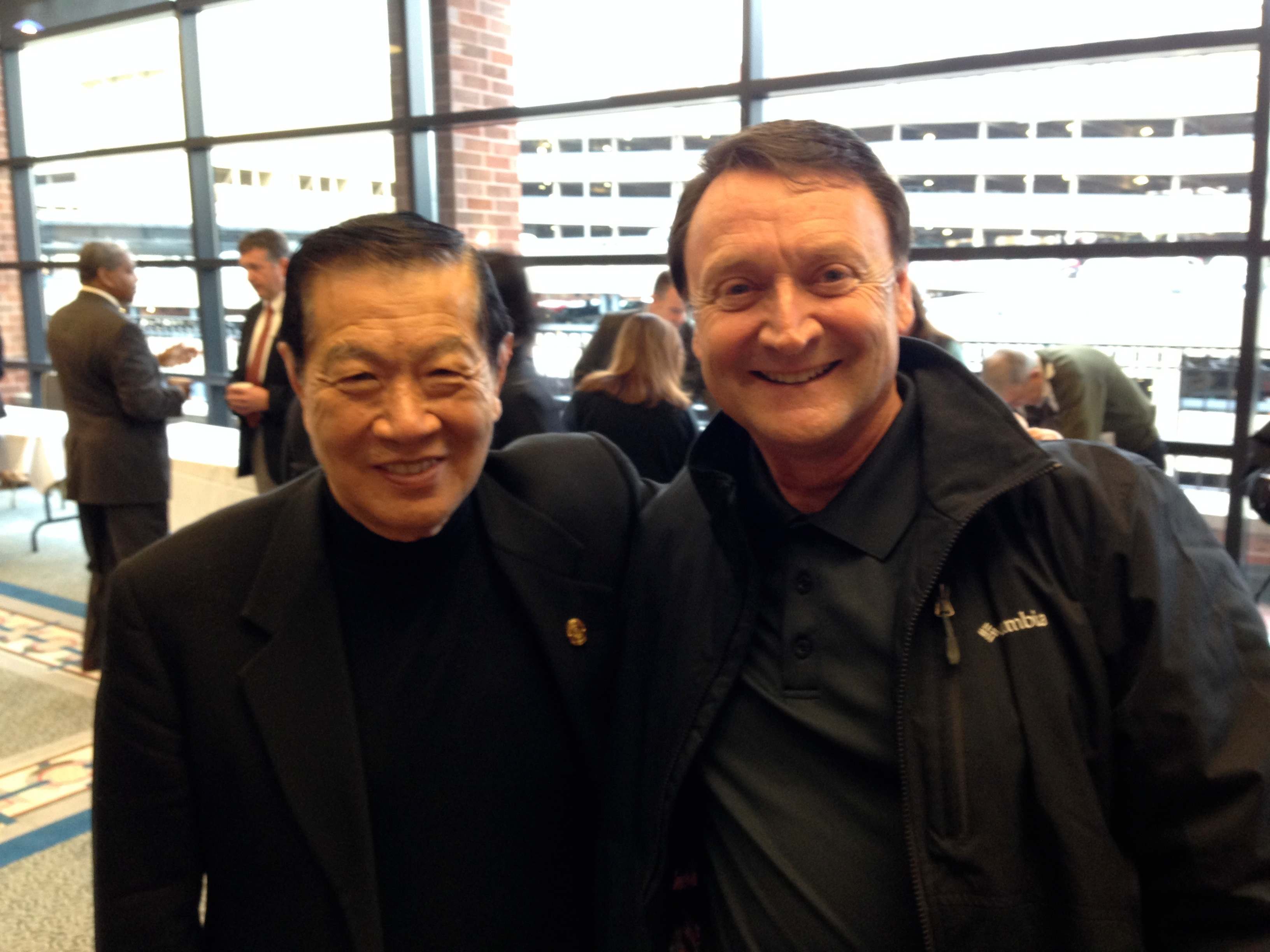 Dr. Henry Lee and Tim Warco