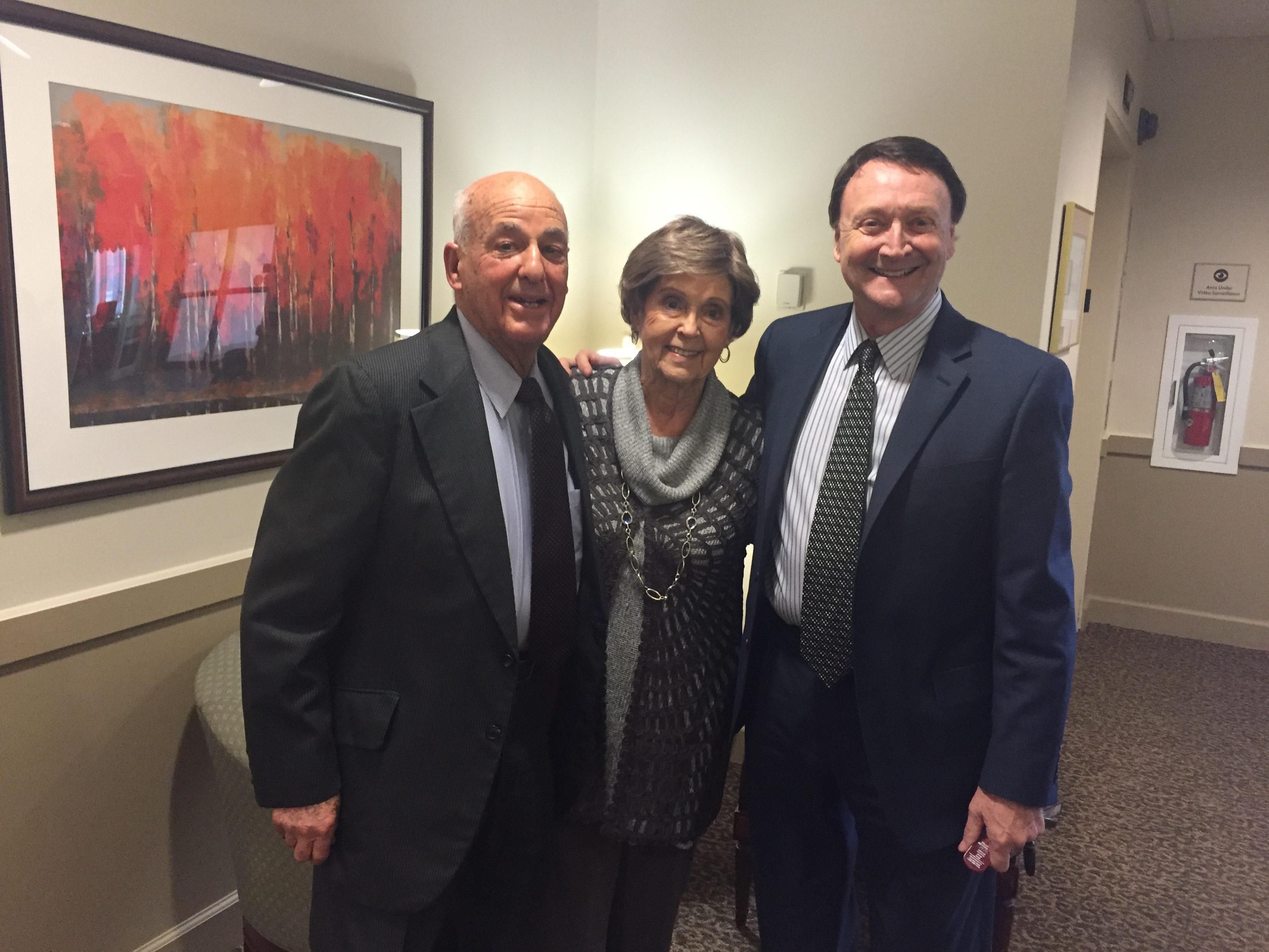 Dr. Cyril Wecht, Aunt Thelma Piatt and Tim Warco