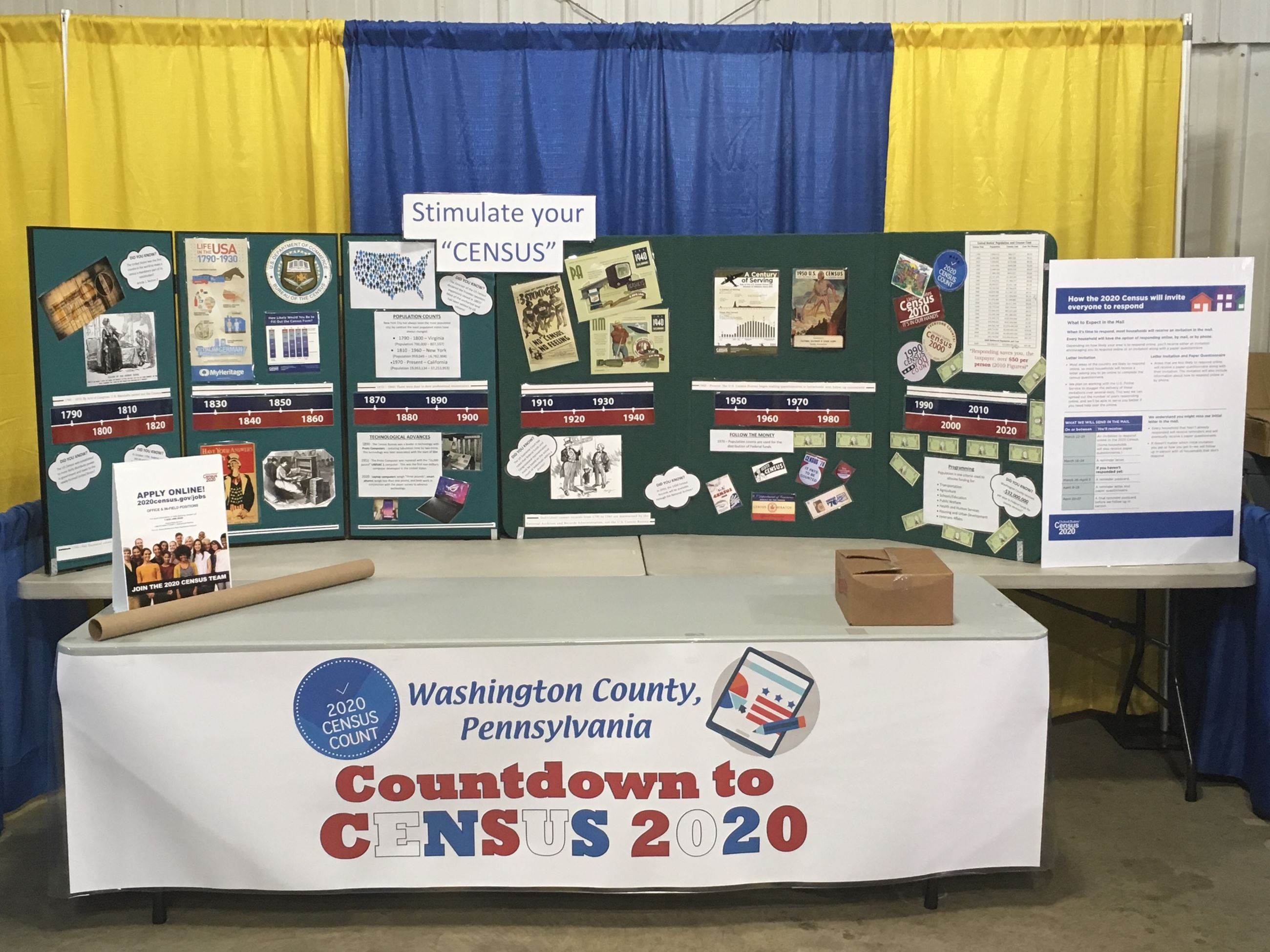 Census Booth Fair