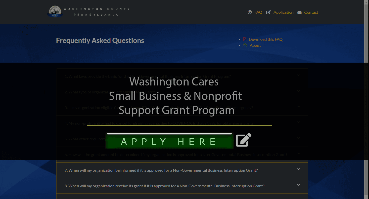 CARES application